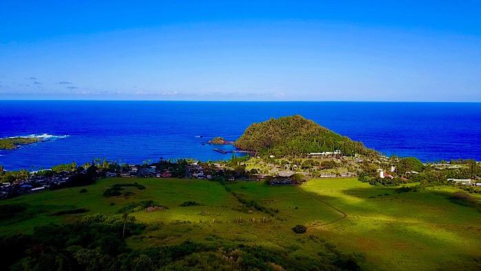 Peace Over Hana Bay