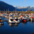 Seward Harbor, Tilt-Shift Miniature